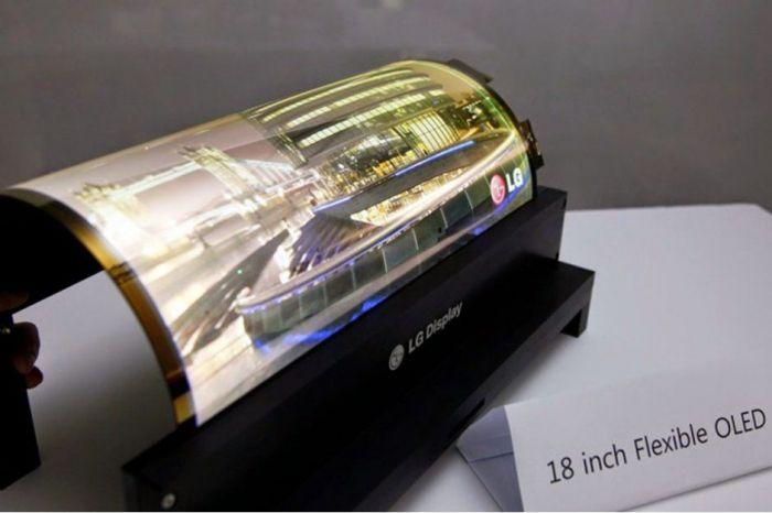 LG и Lenovo готовят складной планшет с гибкой OLED панелью – фото 1