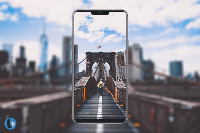 Дизайн LG G7 (G710) на рендерах – фото 2