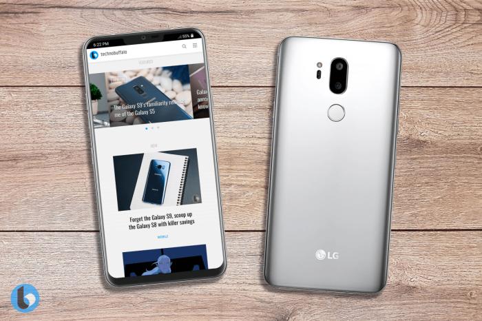 Дизайн LG G7 (G710) на рендерах – фото 3