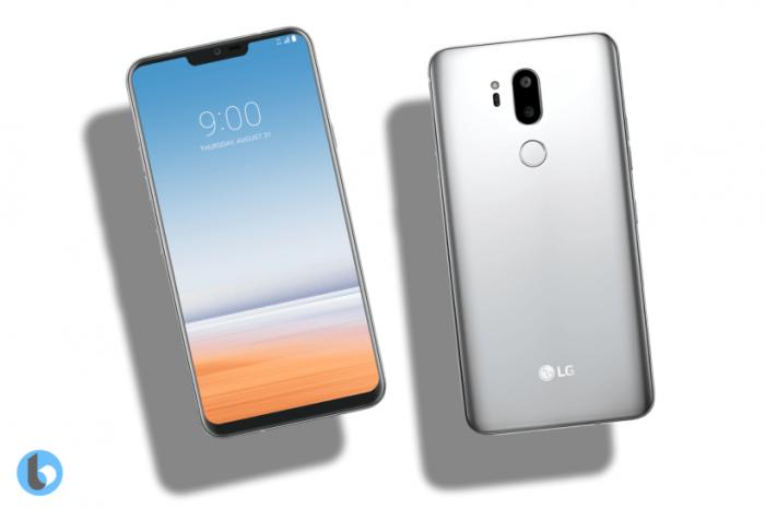 Дизайн LG G7 (G710) на рендерах – фото 5