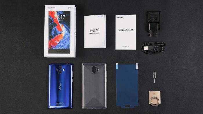 Распаковка Ulefone MIX – фото 1