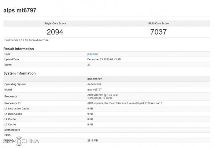 Helio X20 продемонстрировал свое превосходство в бенчмарке GeekBench – фото 1