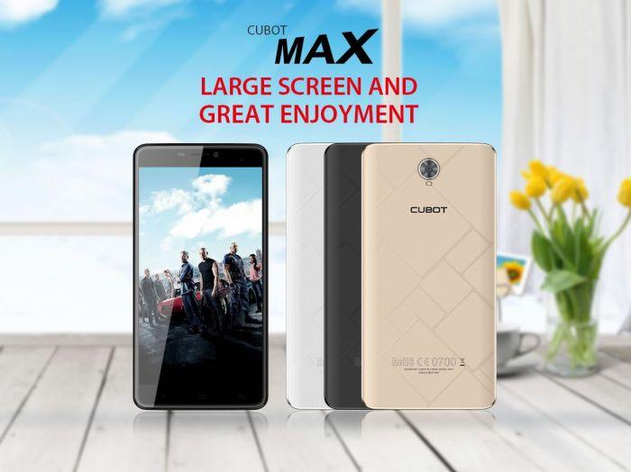 Cubot Max – 6-дюймовый фаблет с 3 Гб оперативки, аккумулятором на 4000 мАч и привлекательным ценником – фото 1
