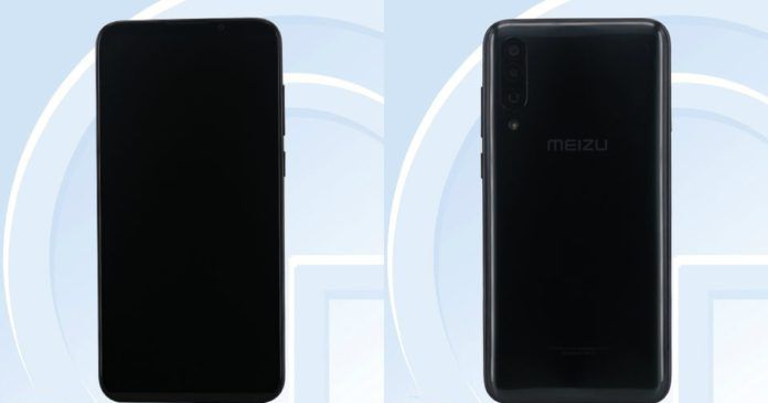 TENAA показал дизайн Meizu 16Xs – фото 1