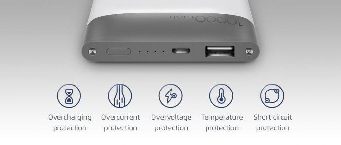 Meizu представила портативный аккумулятор M20 Power Bank с двухсторонней быстрой зарядкой – фото 3
