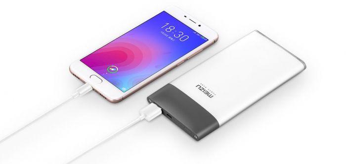 Meizu представила портативный аккумулятор M20 Power Bank с двухсторонней быстрой зарядкой – фото 4