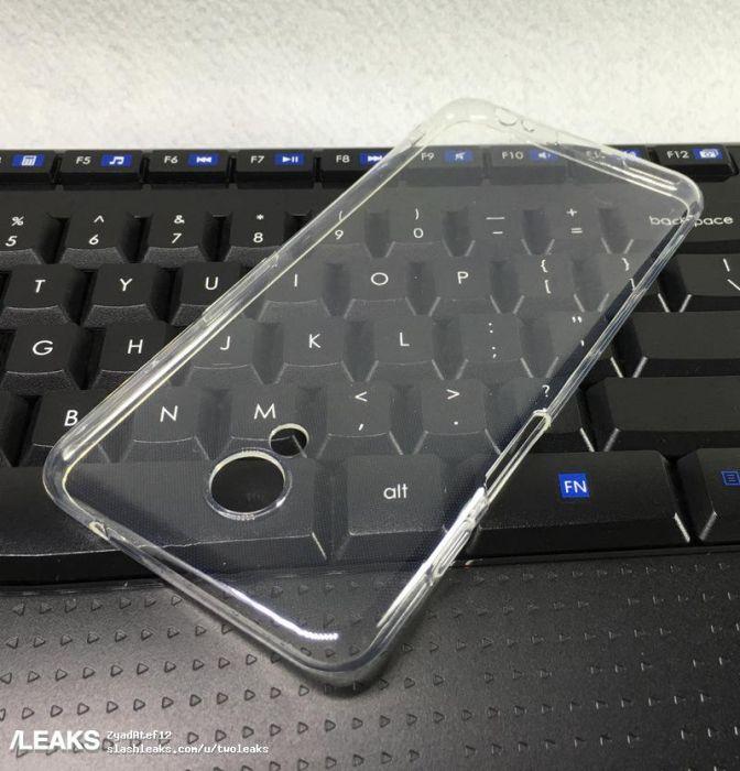Чехол Meizu M6S (Blue Charm 6S) показывает месторасположение сканера отпечатков пальцев – фото 1