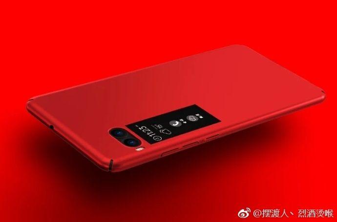Красный и черный Meizu Pro 7 на рендерах – фото 7