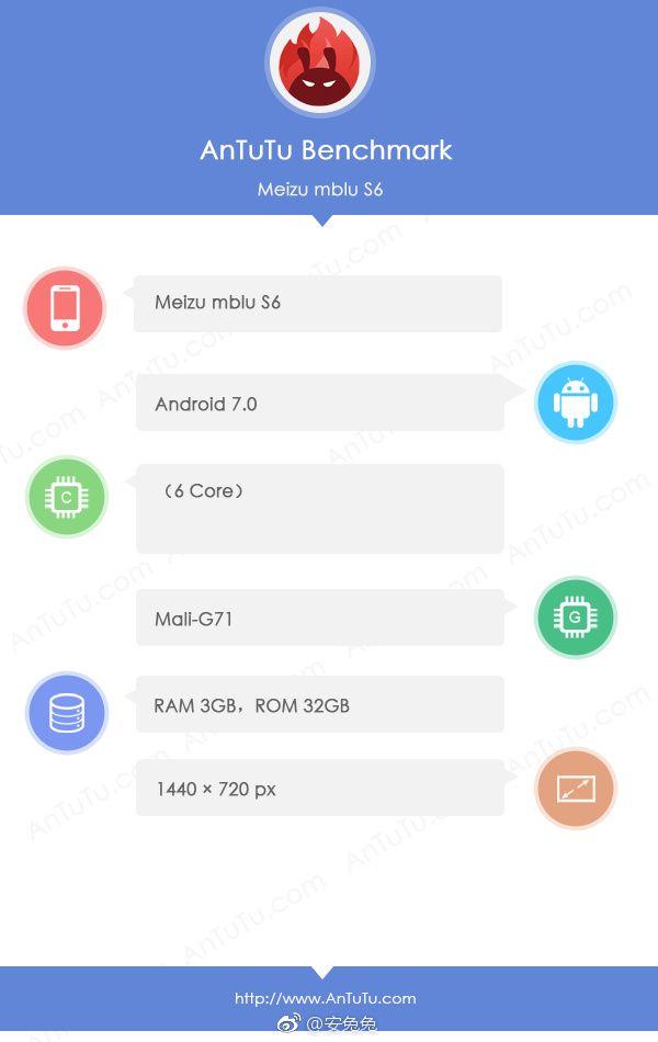 Meizu M6S замечен на видео и в AnTuTu – фото 1