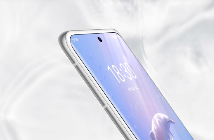 Meizu 18 Chinese White Dolphin Rare Edition предложил белую переднюю панель – фото 2