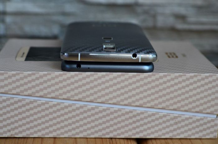 Meizu M2 Note и Elephone P8000 верхний торец