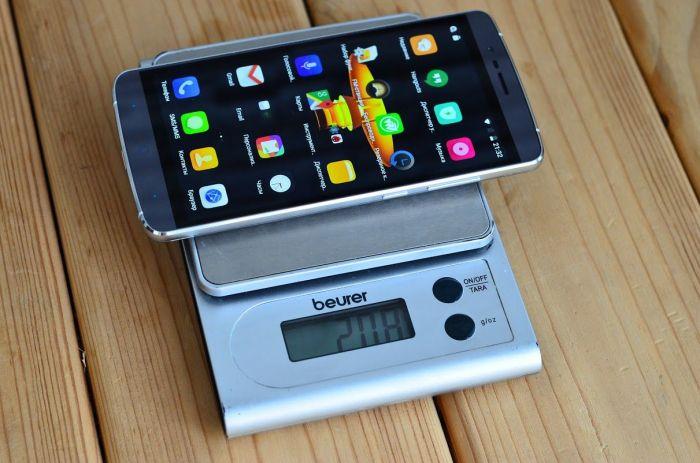 Elephone P8000 вес