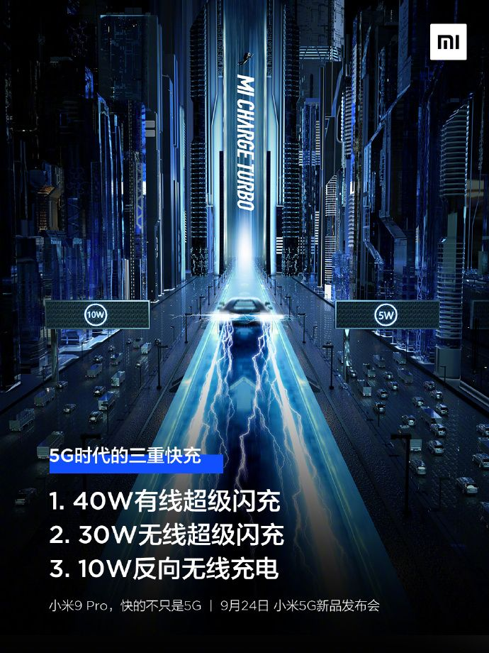 Xiaomi Mi 9 Pro 5G без проводов