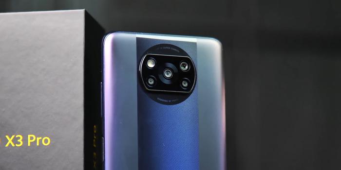 Модуль камер Поко Икс 3 Про