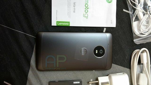 Moto G5 показался в упаковке – фото 1