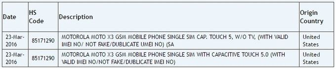 Готовится к выходу 5-дюймовый бюджетник Motorola (Lenovo) Moto X3 – фото 1