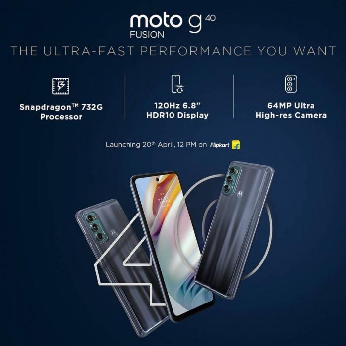 Названы главные фишки Moto G40 Fusion и Moto G60 – фото 1