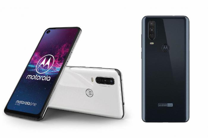 Motorola One Action передняя панель