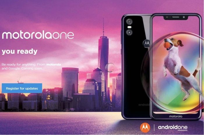 Анонсированы Motorola One и Motorola One Power – фото 1