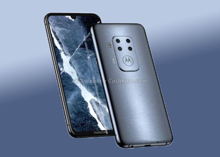 Рендеры смартфона Motorola c квадрокамерой – фото 1