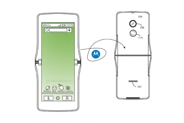 Motorola RAZR может вернуться с инновационными технологиями складной конструкции – фото 1