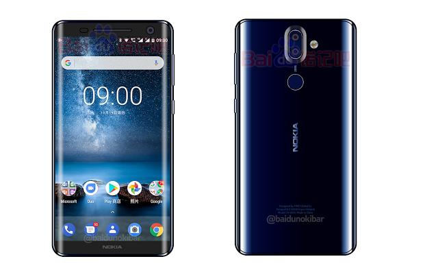 Рендер Nokia 9 в синем цвете – фото 1