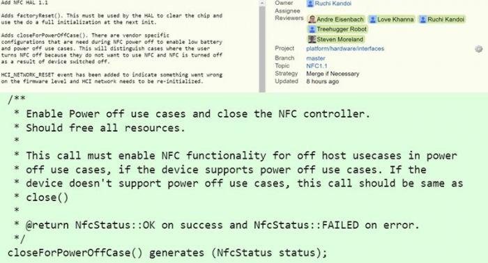 В следующей версии Android модуль NFC будет работать даже после его отключения – фото 2