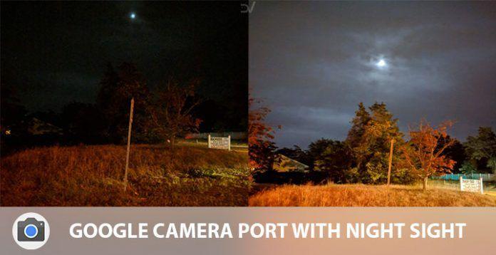 Первый порт приложения Google Camera c функцией Night Sight – фото 1