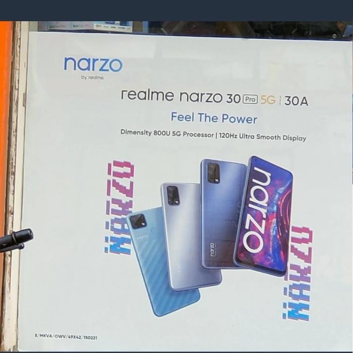 На рекламном плакате засветились Realme Narzo 30 A и Narzo 30 Pro. Когда старт продаж? – фото 1