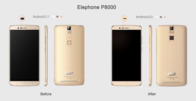 Elephone готовит обновленную версию P8000 с Android 6.0 Marshmallow – фото 1