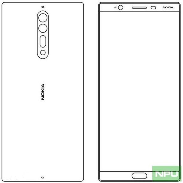 Эскизы Nokia 8 и Nokia 9 обещают двойную тыльную камеру – фото 2