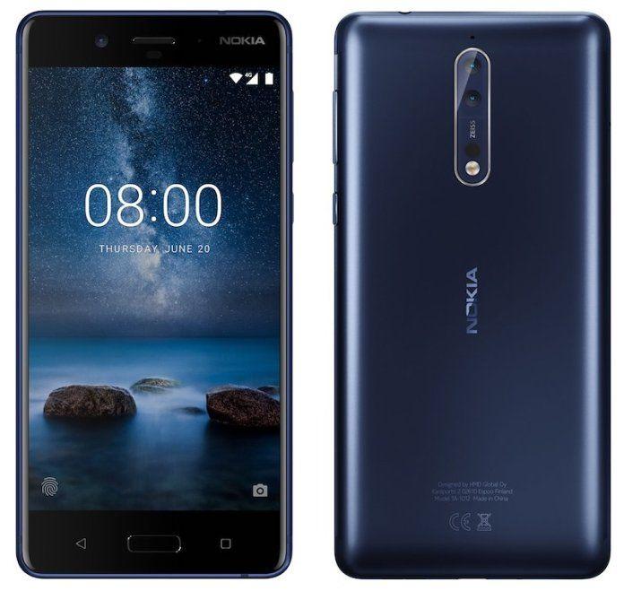 Рендер Nokia 8 подтверждает двойную камеру с оптикой Carl Zeiss – фото 1