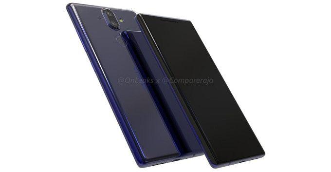 Nokia 9 показали на рендере в формате 360 градусов – фото 1
