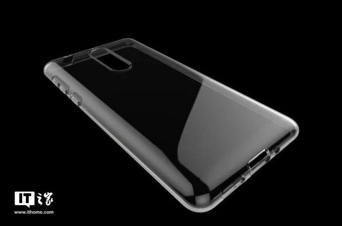 Изображение чехла Nokia 9 сообщает о двойном вертикальном модуле камеры и изогнутых гранях в будущем смартфоне – фото 1