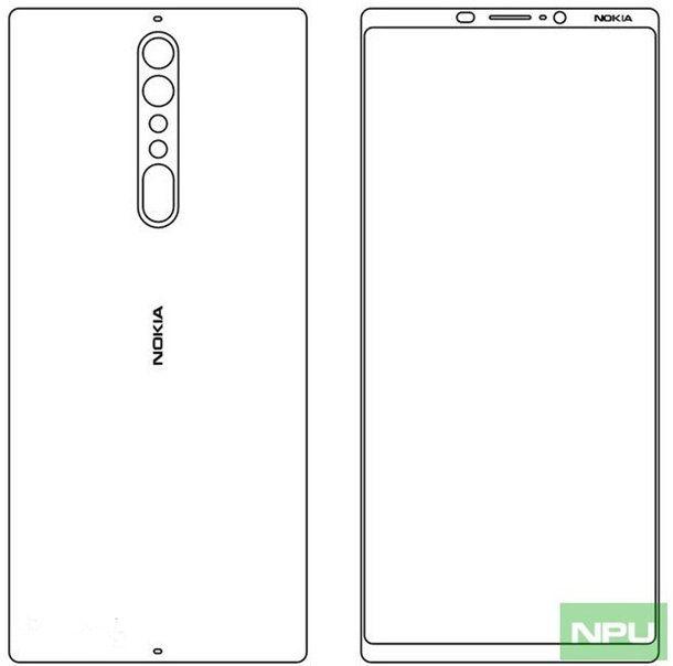 Эскизы Nokia 8 и Nokia 9 обещают двойную тыльную камеру – фото 1