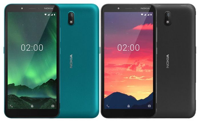 Представлен бюджетный Nokia C2 Android Go Edition – фото 1