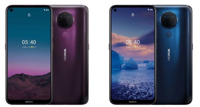 Представлен «среднеклассник» Nokia 5.4 – фото 1