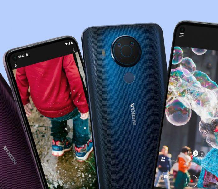 Представлен «среднеклассник» Nokia 5.4 – фото 2