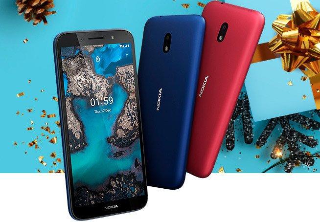 Представлена простая бюджетка Nokia C1 Plus с Android Go Edition – фото 1