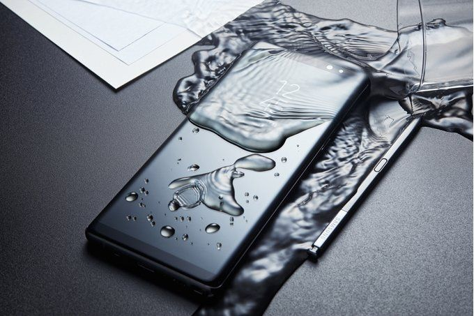 Samsung Galaxy Note 9 грядет. Качественный рендер флагмана – фото 1