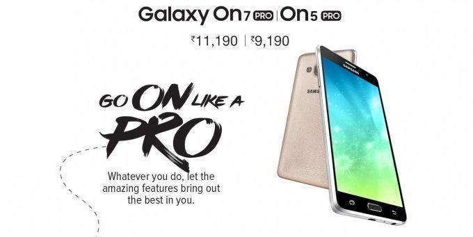Samsung Galaxy On5 Pro и Galaxy On7 Pro официально представлены – фото 1