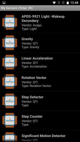 OnePlus 3 sensors