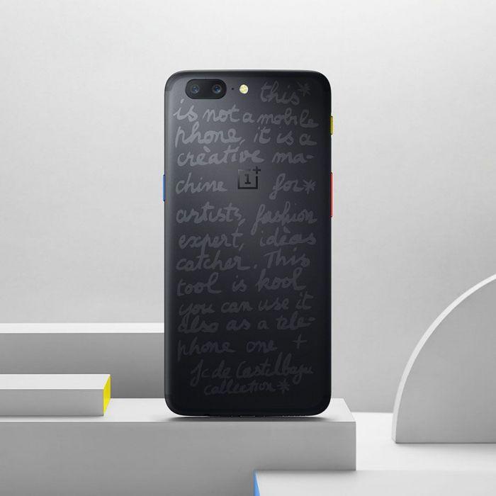 OnePlus 5 JCC+ Limited Edition: эксклюзивный смартфон от модного дизайнера – фото 2