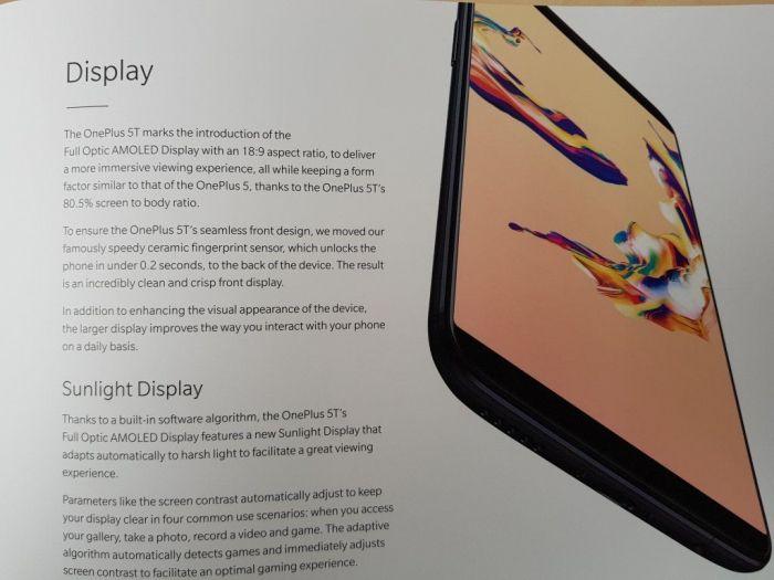 OnePlus 5T: неофициальный анонс состоялся, раскрыты все характеристики флагмана – фото 7