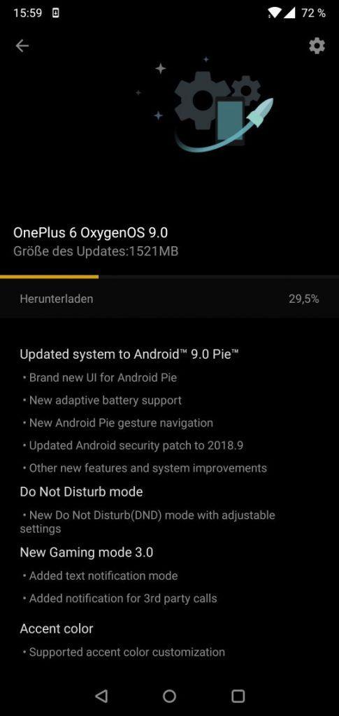 OnePlus 6 получил стабильную версию OxygenOS 9.0 на Android 9.0 Pie – фото 3