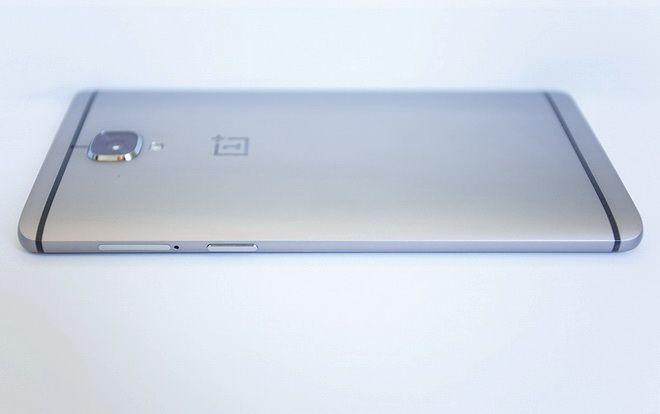 OnePlus 3 left side
