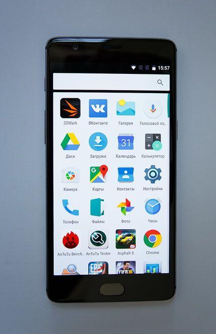 OnePlus 3 screen