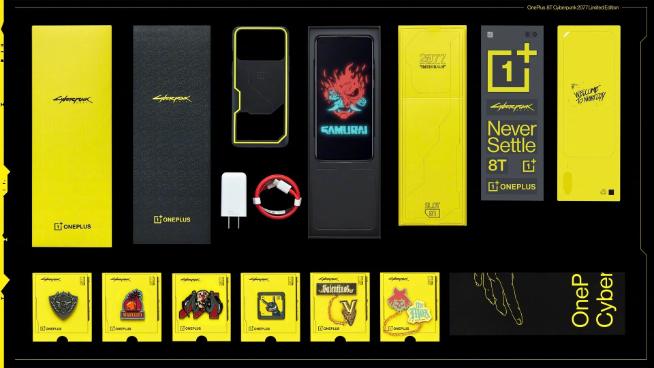 Представлен брутальный OnePlus 8T CyberPunk 2077 Edition – фото 3