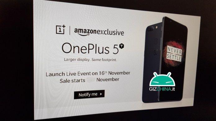 Названа точная дата анонса OnePlus 5T – фото 1