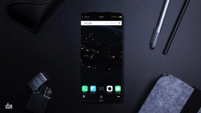 Концепт Oppo Find 9 в духе безрамочного смартфона – фото 1